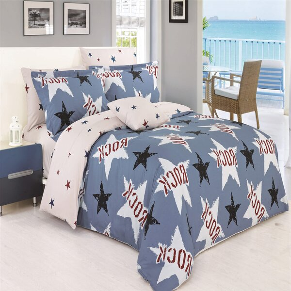 Darius 200 Thread Count 100% Cotton Sheet Set by Zoomie Kids